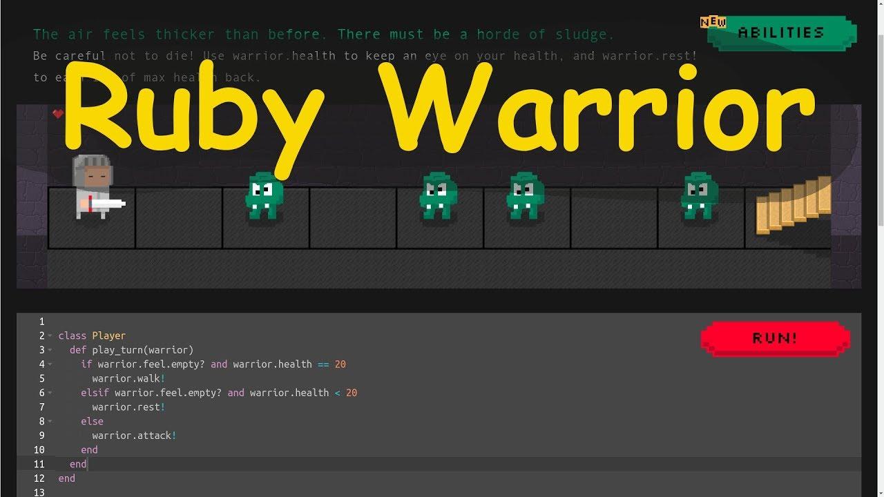 Hasil gambar untuk Ruby Warrior
