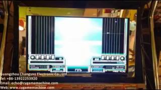 Beatmania dx tricoro music game machine