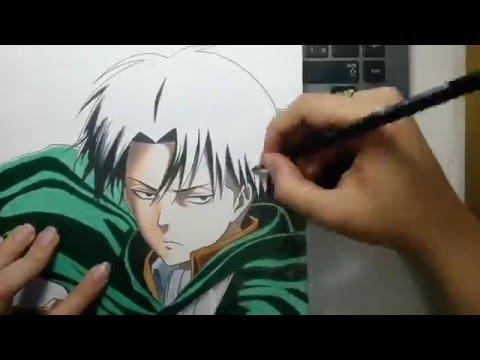 Speed Drawing - Levi Ackerman (Shingeki no Kyojin)