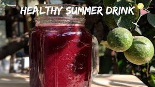 Refreshing & healthy summer drink in Tamil #BeatTheHeat