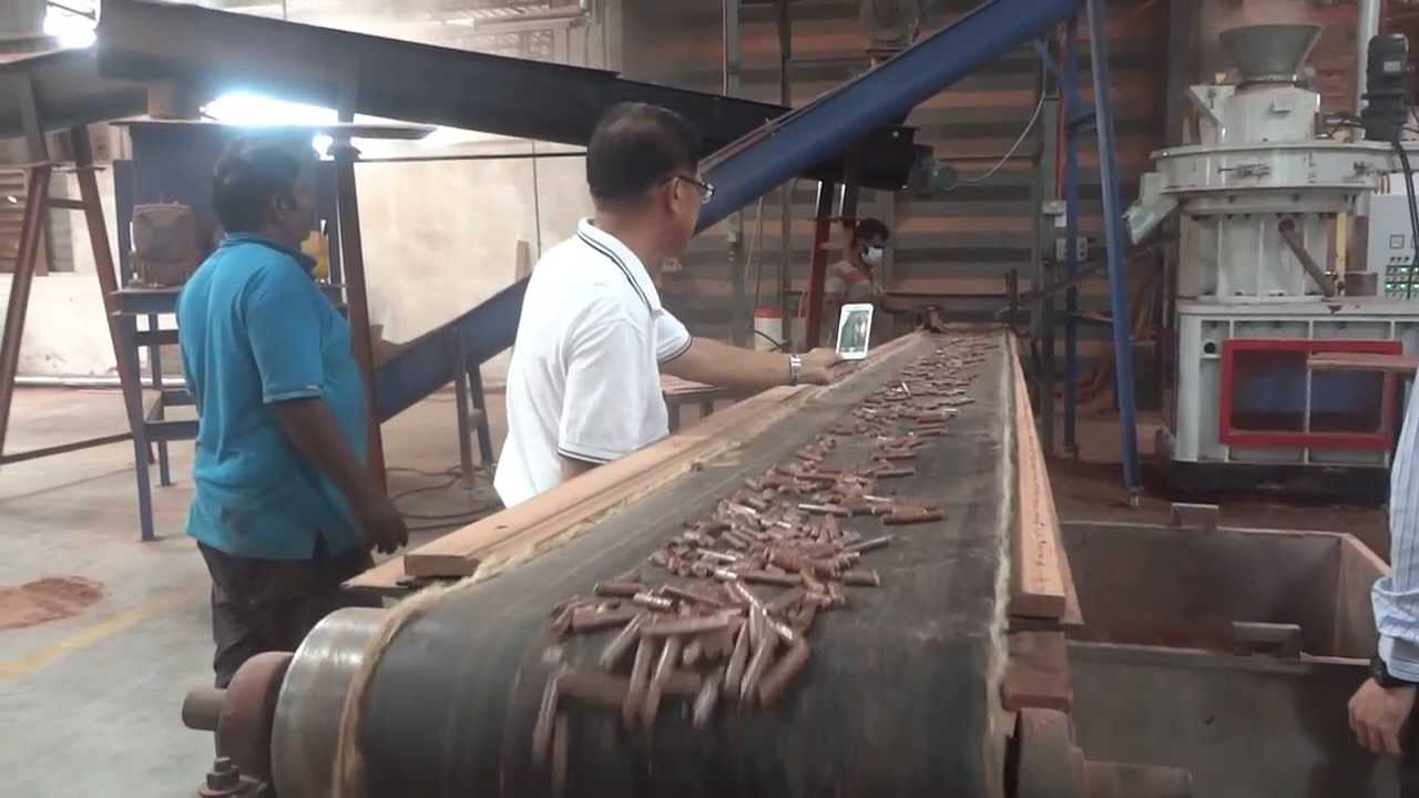 Working In Sawdust ~ Sawdust pellet machine in malaysia youtube