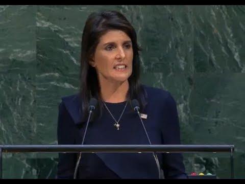 UN Ambassador Nikki Haley SLAMS The Cuban Regime for Multiple Violations