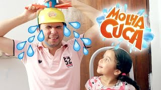 DESAFIO MOLHA CUCA COM ÁGUA GELADA! Wet Head Challenge