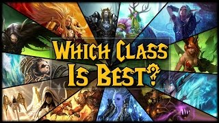 So how do we find the perfect class for us to play? We need to look...