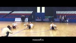 Футбольный фристайл | Выступление на Динамо | MOSCOWFF