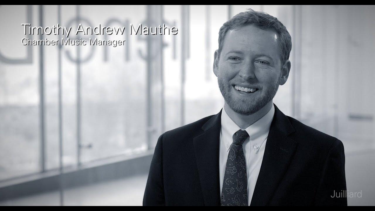 Juilliard Snapshot: Timothy Andrew Mauthe on Juilliard's Chamber Music Program