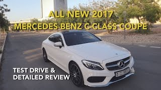 All New 2017 Mercedes-Benz C-Class Coupe Test Drive & Detailed Review