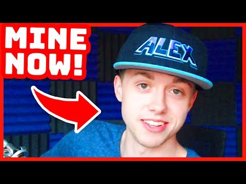ALEX'S CHANNEL IS MINE NOW!!