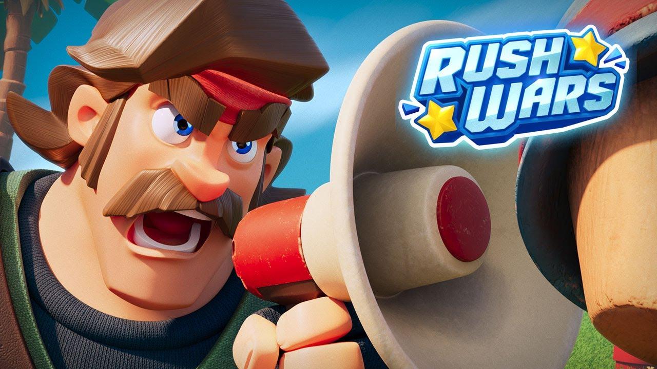 Supercell teases new mobile game Rush Wars | Pocket Gamer