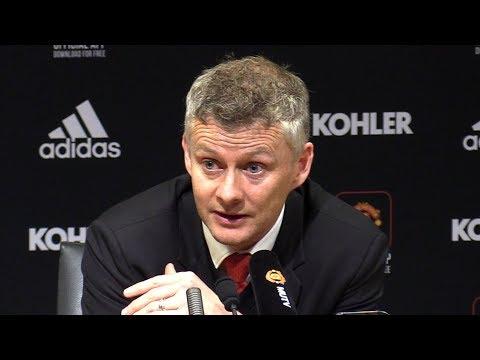 Man Utd 0-2 Man City - Ole Gunnar Solskjaer Full Post Match Press Conference - Manchester Derby
