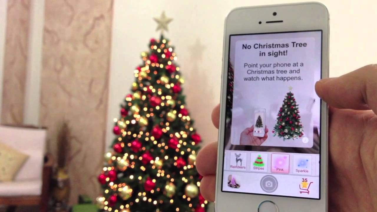 Twinkly app turns Christmas trees into works of art - YouTube
