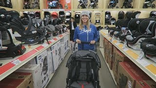 SHOPPING FOR OUR FIRST STROLLER!