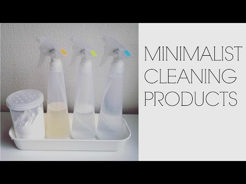 MINIMALIST CLEANING PRODUCTS: Simple and safe!
