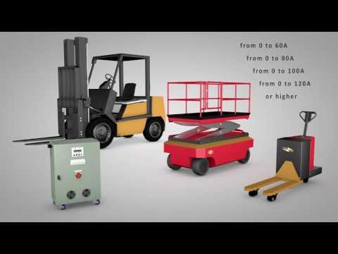 Universal device for traction batteries Test-regeneration unit