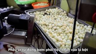 Dây chuyền sản xuất bánh bao