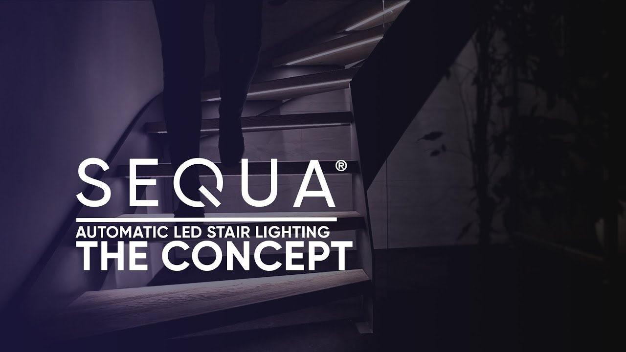 interactive furniture  Automatic LEDstairlighting  The concept
