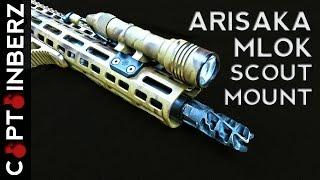 Arisaka Defense M-LOK Scout Weapon Light Mounts