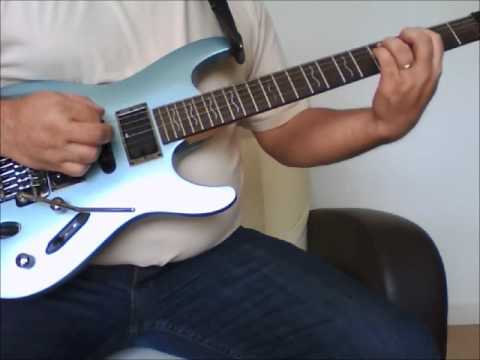 DiMarzio tone zone bridge pickup demo DP-155 ToneZone test - YouTube