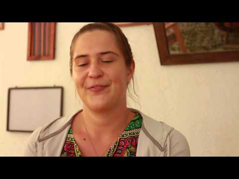 Loli Interview for Ixquic Spanish School in Antigua Guatemala