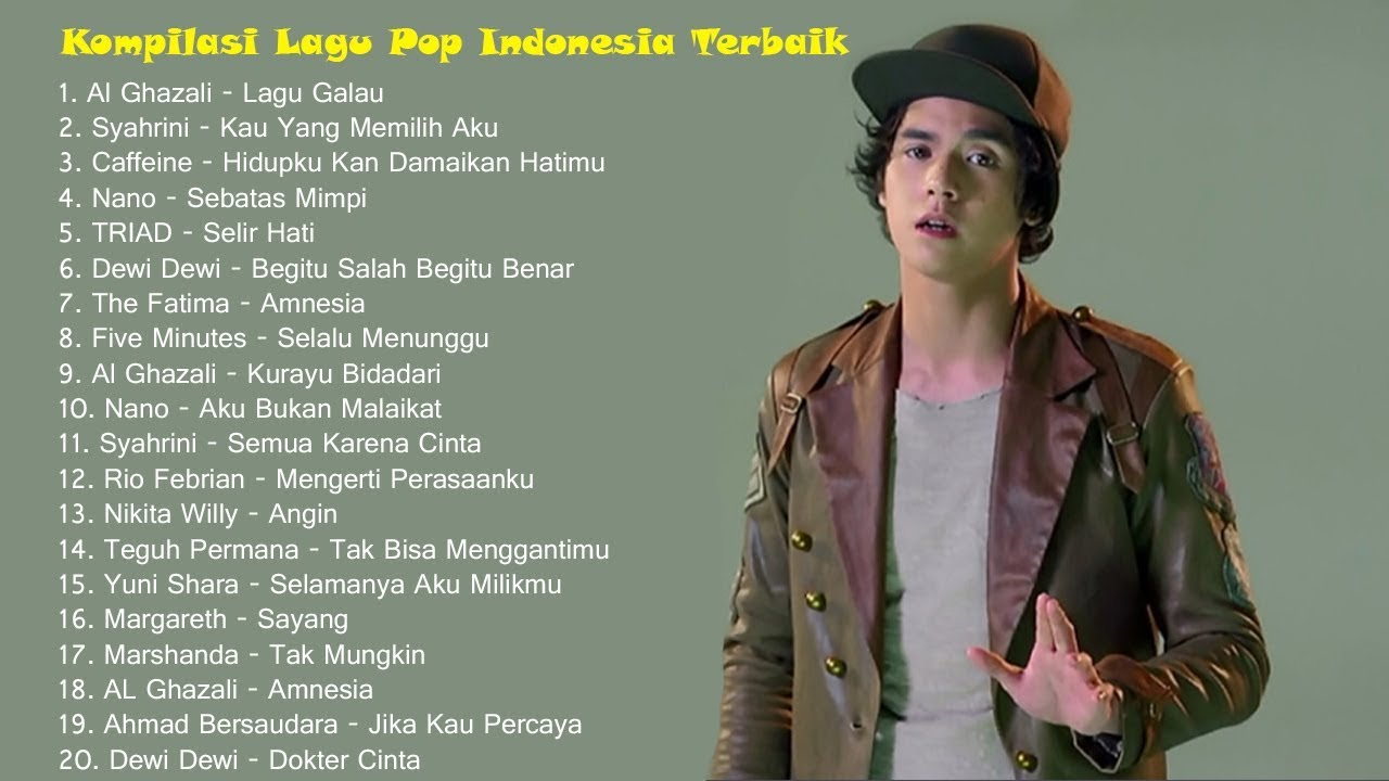 Best Indonesian Pop Compilation