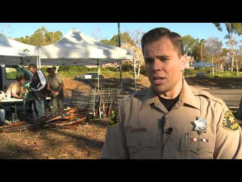 Guns For Gift Cards - San Diego County Sheriff
