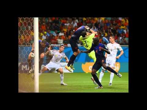 Spanje   Nederland 1 5 WK 2014 met radioverslag van Jack van Gelder en Ronald van der Geer nederland