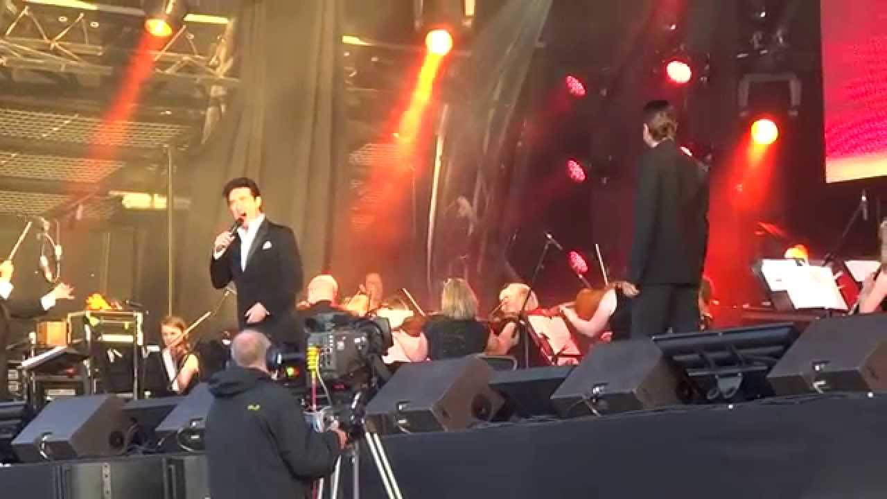 Il divo can you feel the love tonight cork youtube - Il divo man you love ...