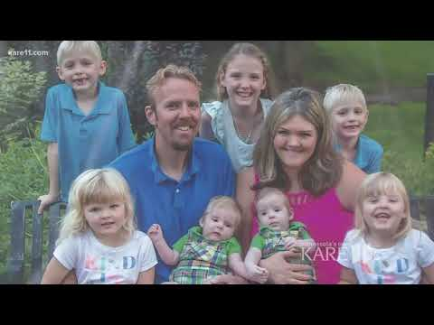 MN woman with 7 children that include three sets of twins
