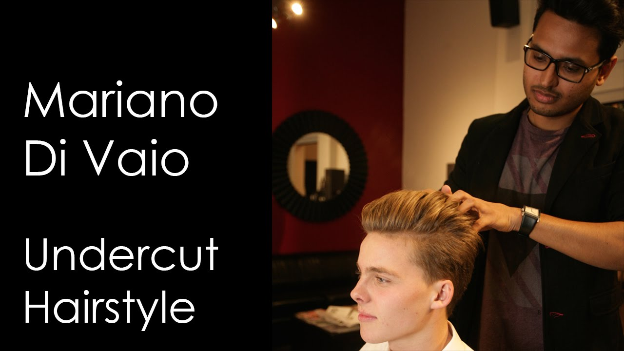 Pompadour Haircut Vancouver : How to mariano di vaio haircut undercut hairstyle