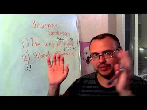Как описывать что-то на английском на примере книги The Way of Kings by B.Sanderson .Попытка №3