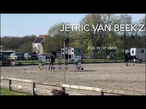 Jetric van beek Z 2nd @GP 1m45 Groentenjumping