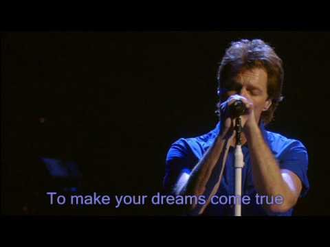 Bon Jovi Wild Is The Wind Lyrics