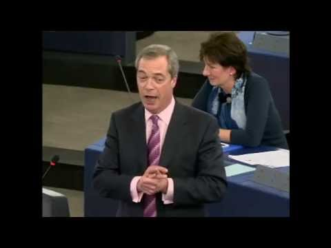 The Best of Nigel Farage and EU Parliament Part 1