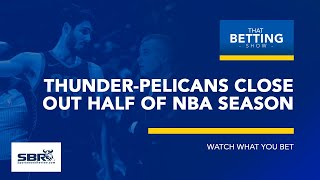 Thunder vs Pelicans NBA Betting Tips |  NCAAB Picks and Predictions |  TBS, Feb 14th