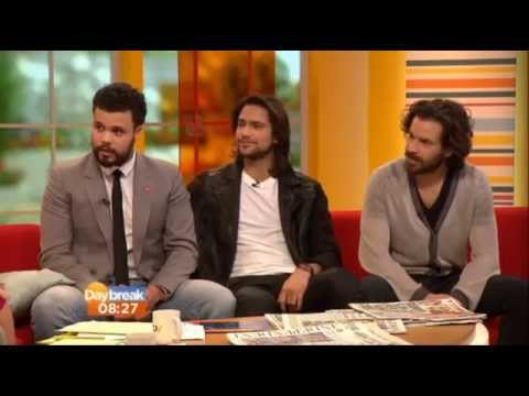 Santiago Cabrera  on TV  Daybreak