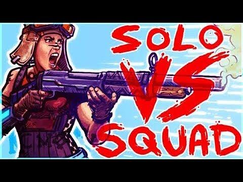 Solo Squads Win