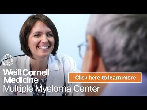 Myeloma Cancer Chemotherapy NY | Weill Cornell Medicine Multiple Myeloma Center