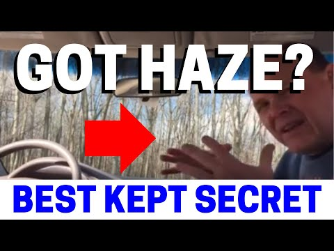 How To Clean The Haze On Your Car's Windshield & Where It Comes From