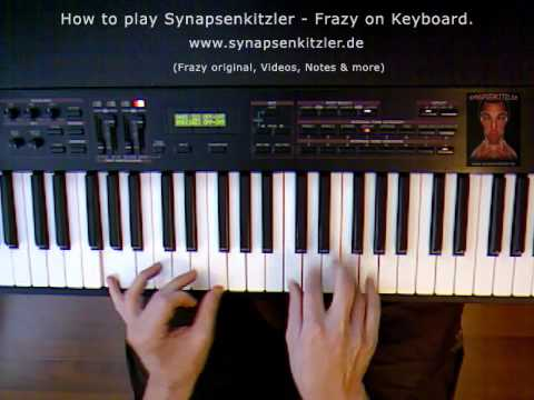 Synapsenkitzler - Frazy (edit) How to play Frazy on piano (Wie man Frazy auf dem Klavier spielt)