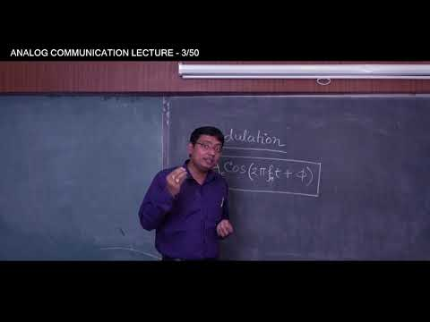 ANALOG COMMUNICATION | LECTURE -1 (MODULATION PART 2) | ARUNAVA MUKHOPADHYA | Gymkhana TV | IEM