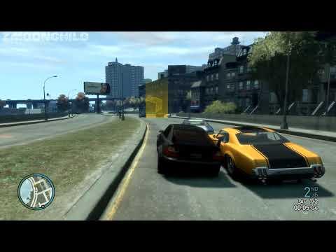 GTA IV - Procedural Mission: Race - South Broker Race - YouTube