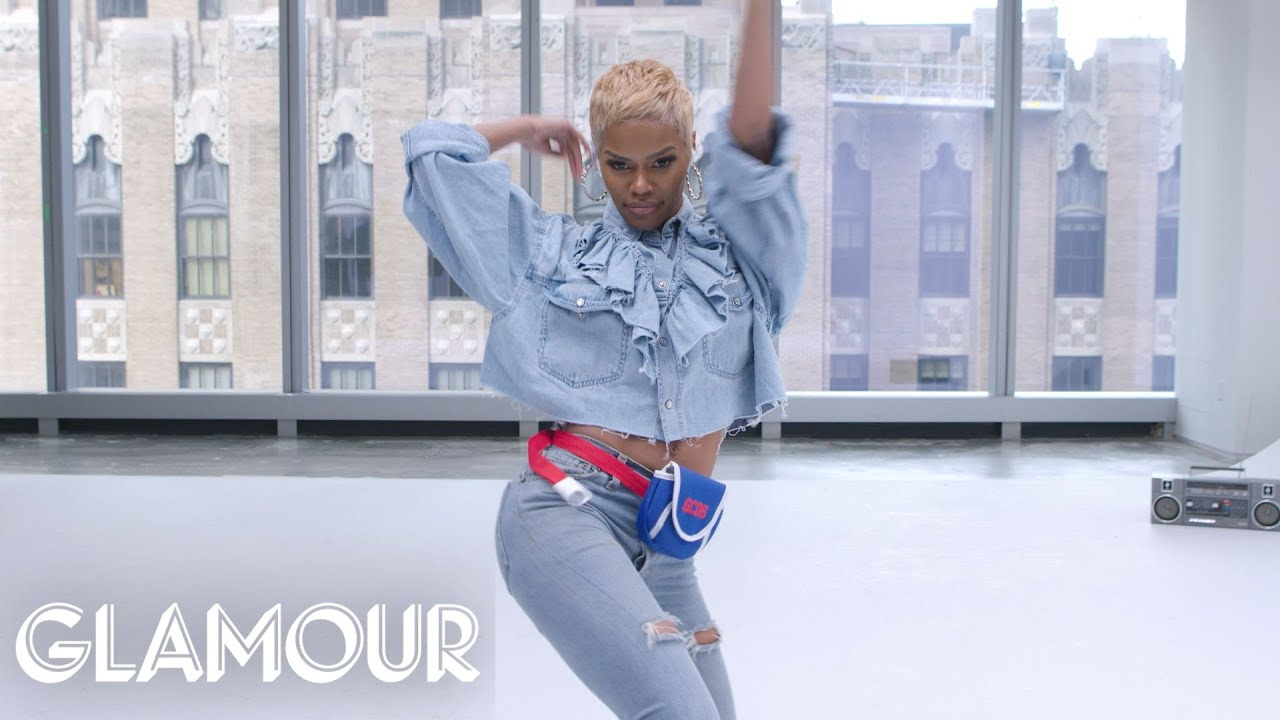 Teyana Taylor Dances to Terrible Stock Music   Glamour