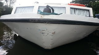 Hire Boat Damage On Norfolk Broads - (Sailing High Seas) Ep. 22