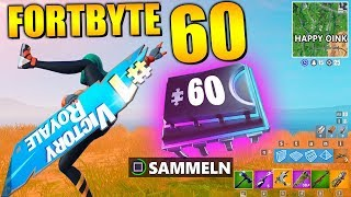 Fortnite Fortbyte 60 🚧 Sign Spinner | All Fortbyte Locations Season 9 Utopia Skin German