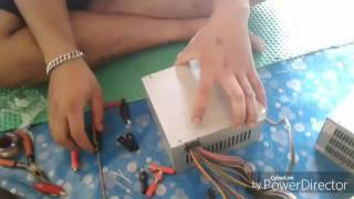 Cara membuat inventer dari power supply PC