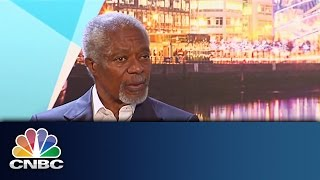 Kofi Annan | The CNBC Conversation | CNBC International