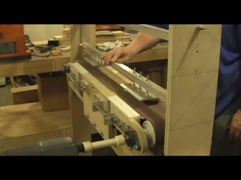 shop built sander first fretboard radius youtube. Black Bedroom Furniture Sets. Home Design Ideas