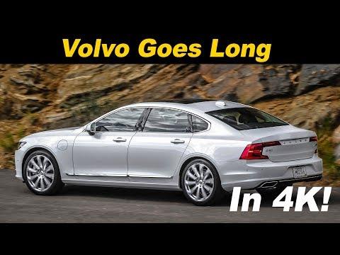 2018 Volvo S90 T8 Review / Comparison - In 4K