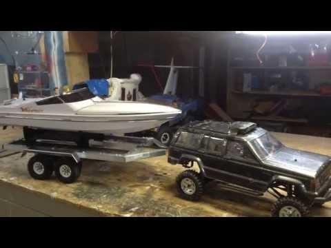 aluminum rc trailer build 1 10 scale double axle