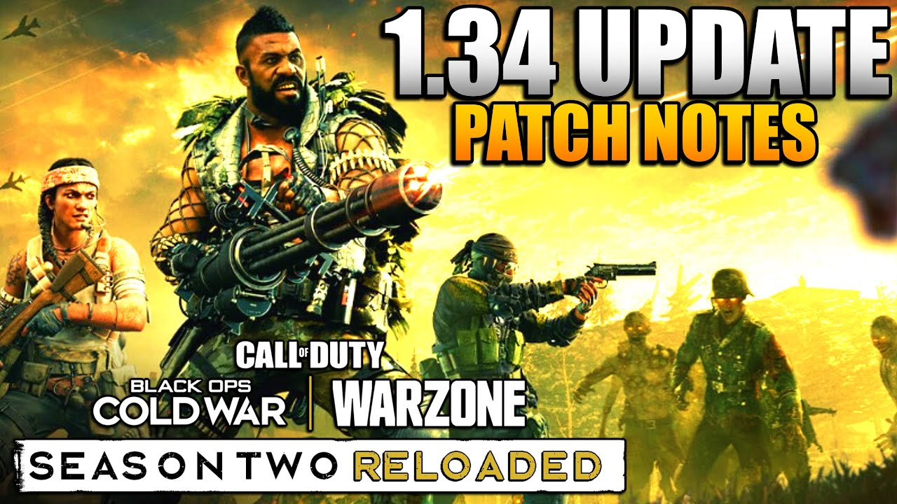 Call of Duty: Warzone's season 2 Reloaded patch notes: AUG nerfs ...
